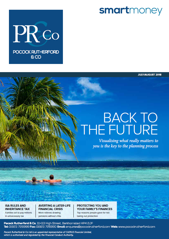 Pocock Rutherford Smart Money Magazine July/August 2018
