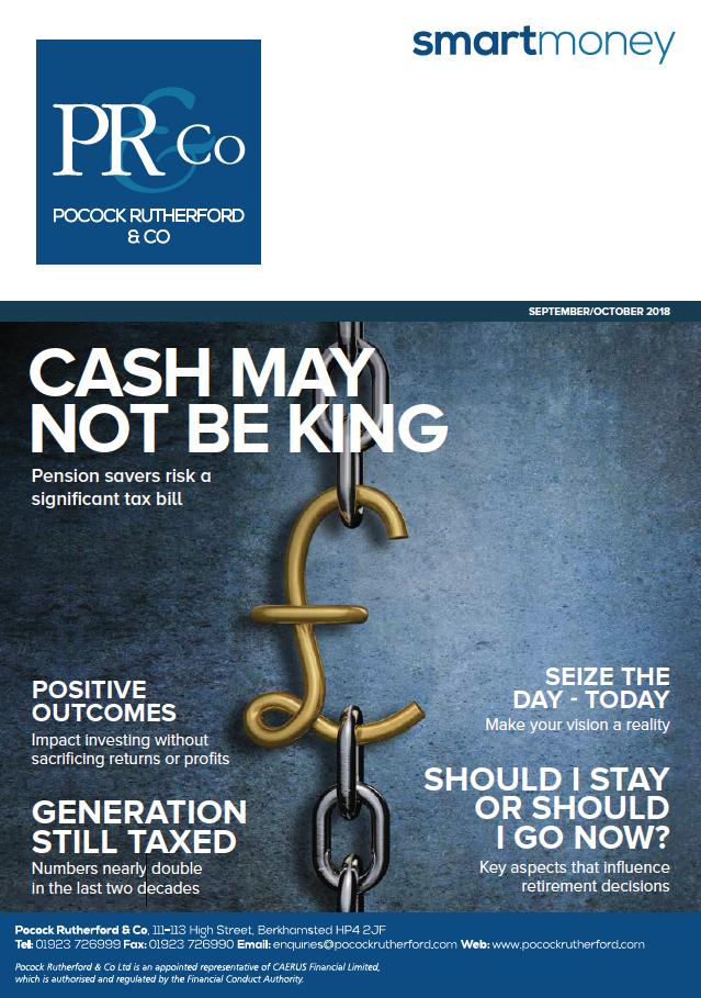 Pocock Rutherford Smart Money Magazine Sept/Oct 2018