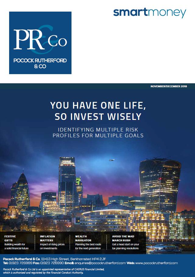 Pocock Rutherford Smart Money Magazine Nov/Dec 2018